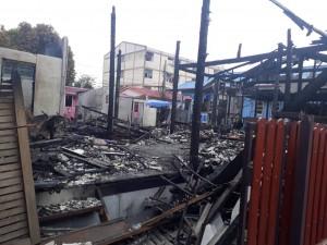ไฟไหม้ ชุมชนซาอาดะห์ ๑