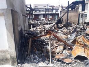 ไฟไหม้ ชุมชนซาอาดะห์ ๔